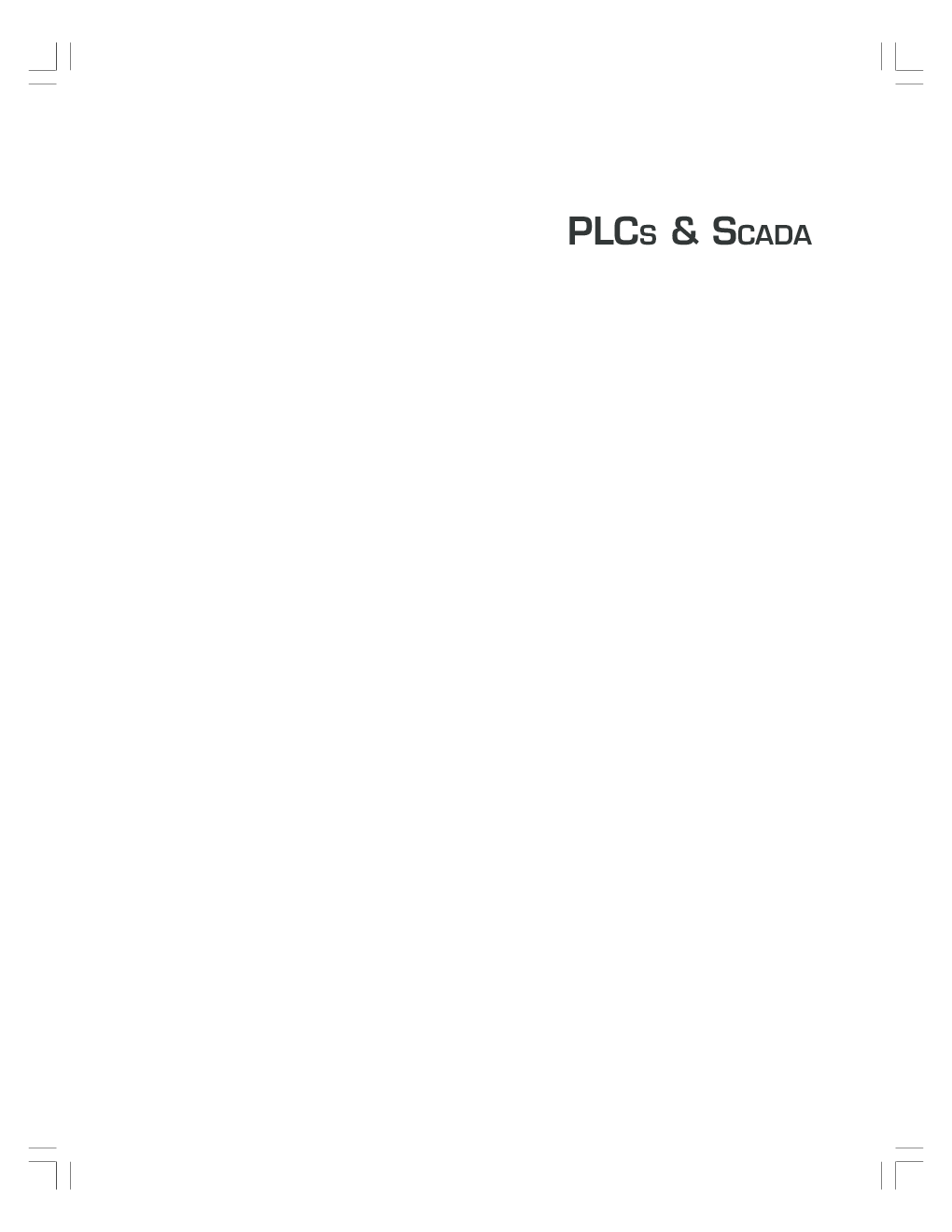 PLCS & SCADA Theory And Practice By Rajesh Mehra, Vikrant Vij - Page 1