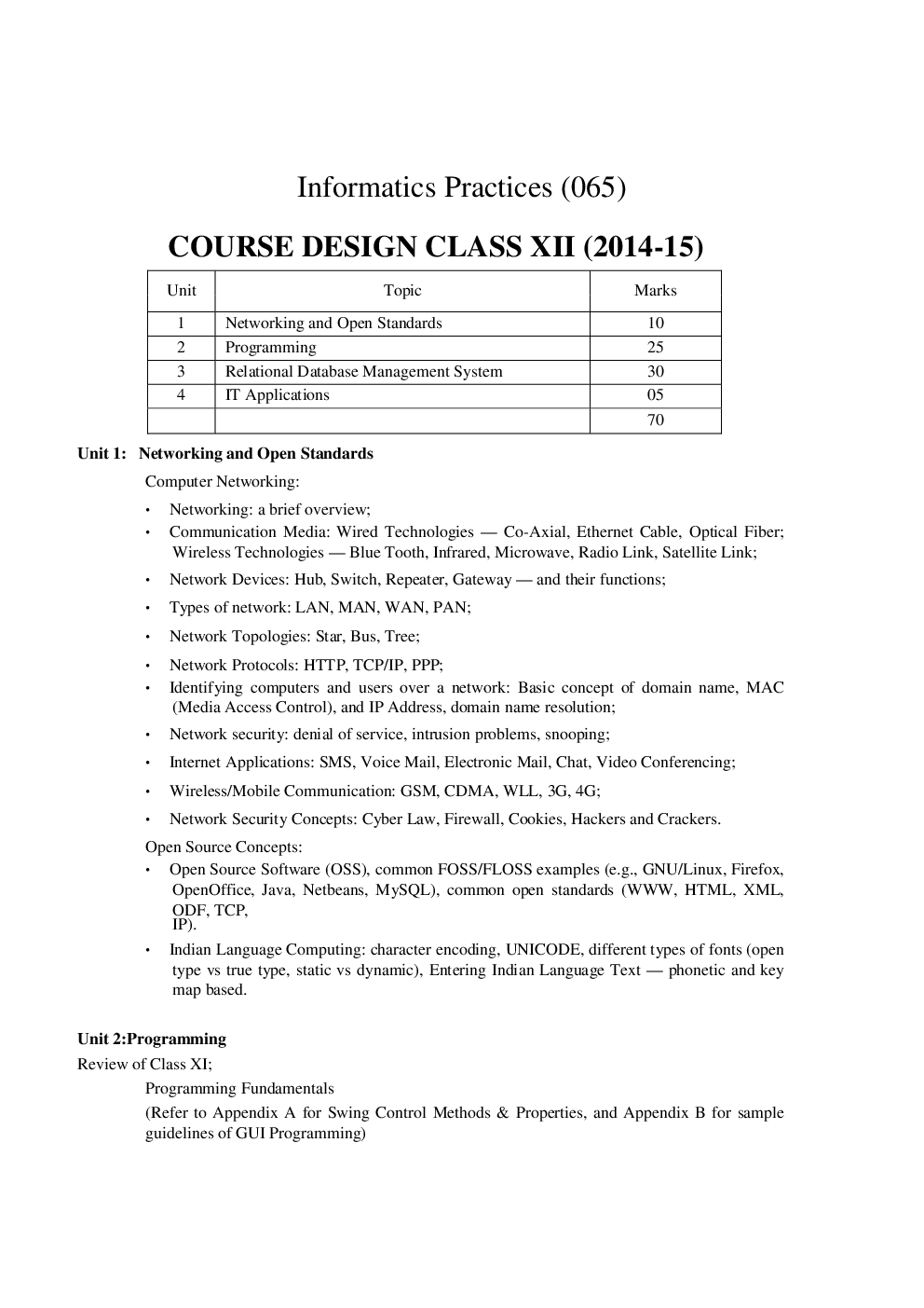 Informatics Practices Study Material for Class XII - Page 3