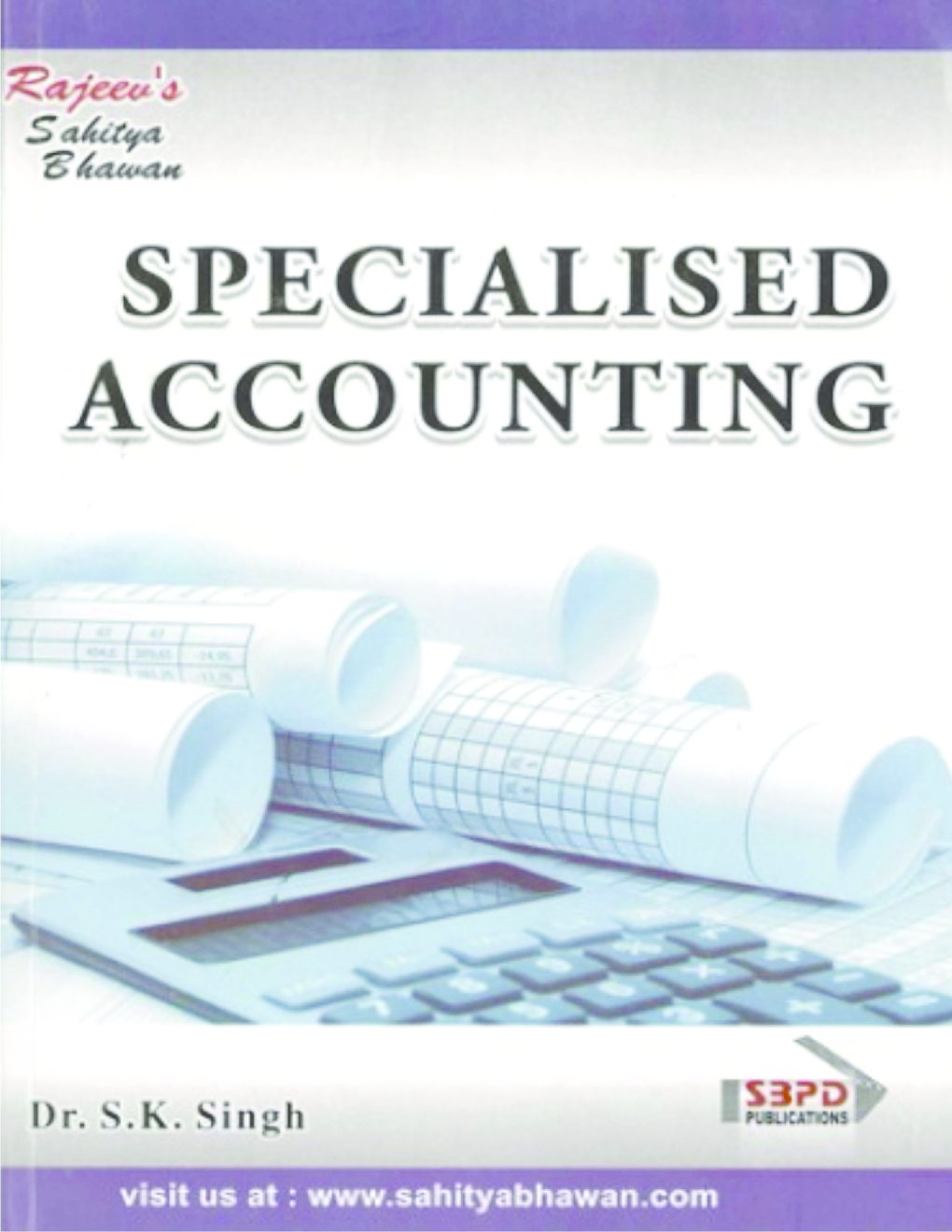 Specialised Accounting English Language - Page 1