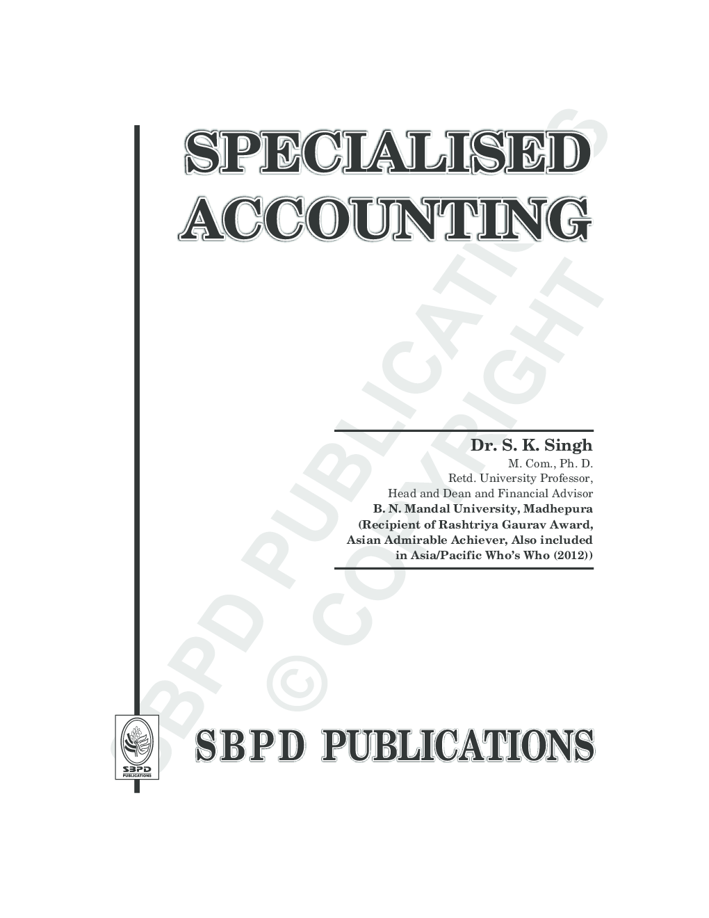 Specialised Accounting English Language - Page 3