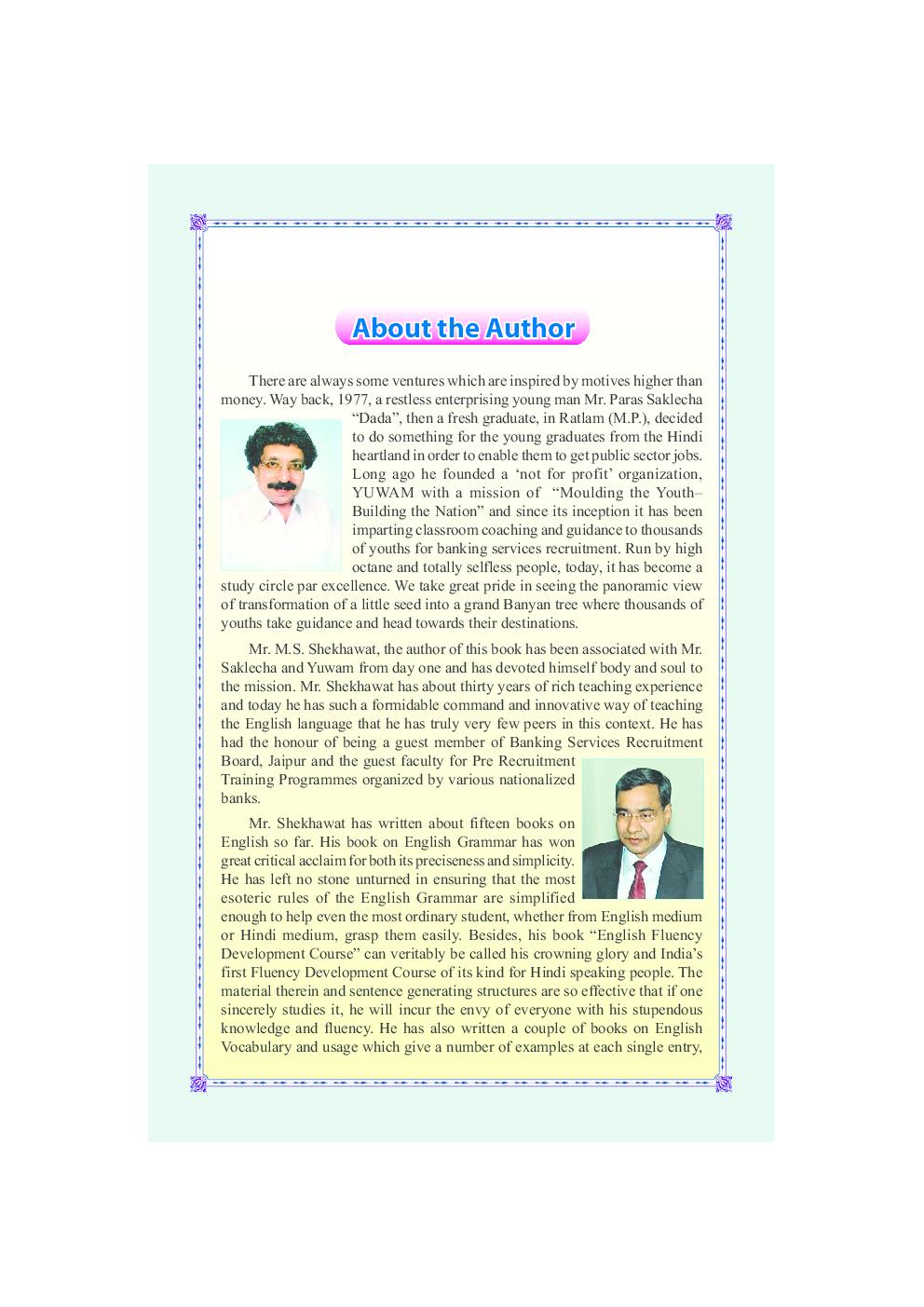 Word Bank for Spoken English (Eng.-Hindi) - Page 4