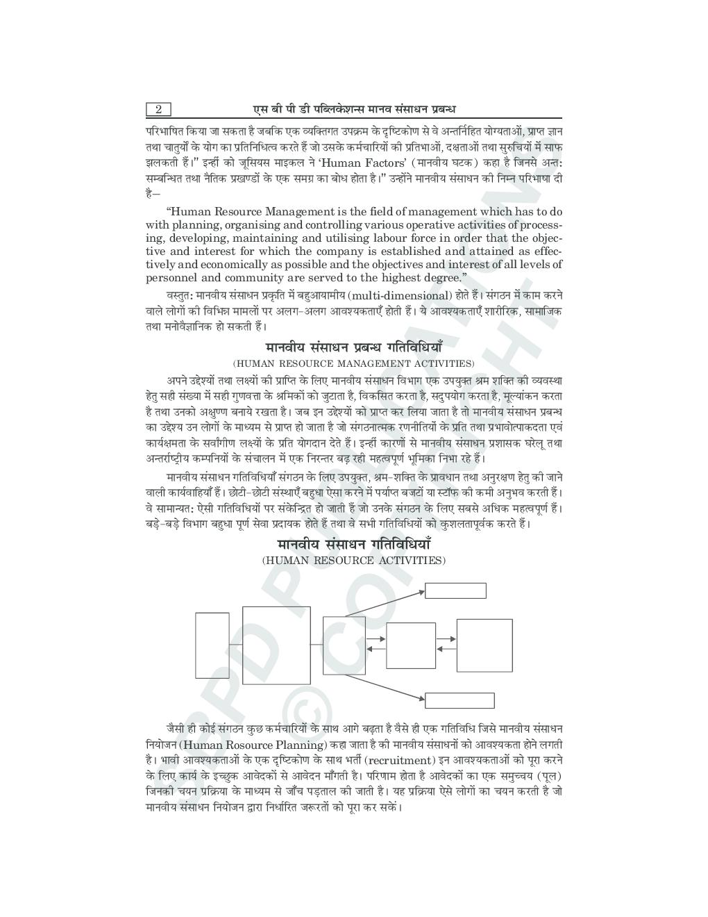 मानव संसाधन प्रबंधन B.Com. III के लिए - Page 5