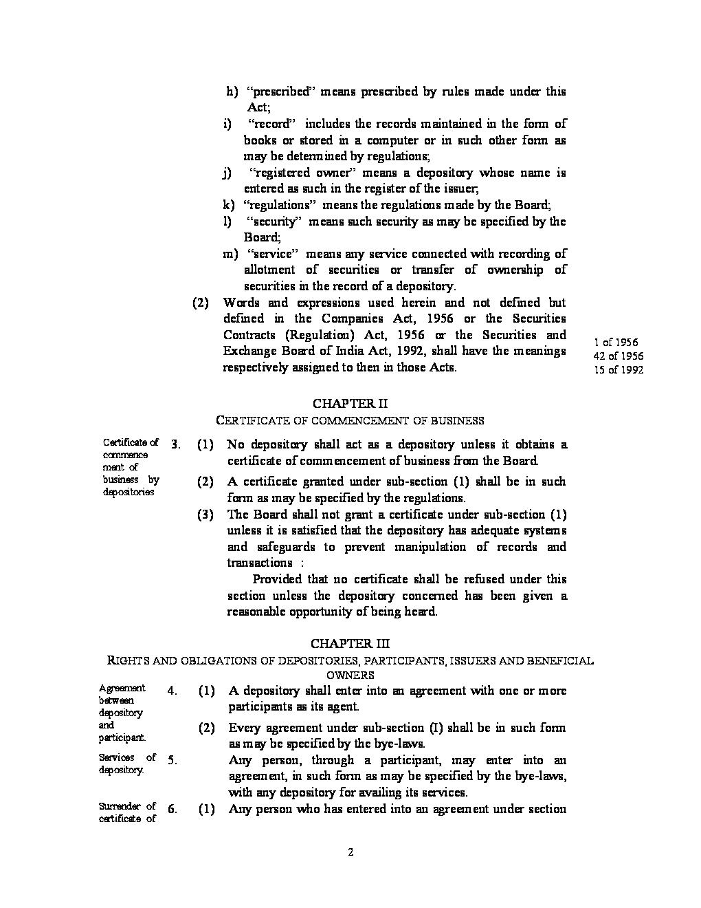 Depository act 1996 pdf converter