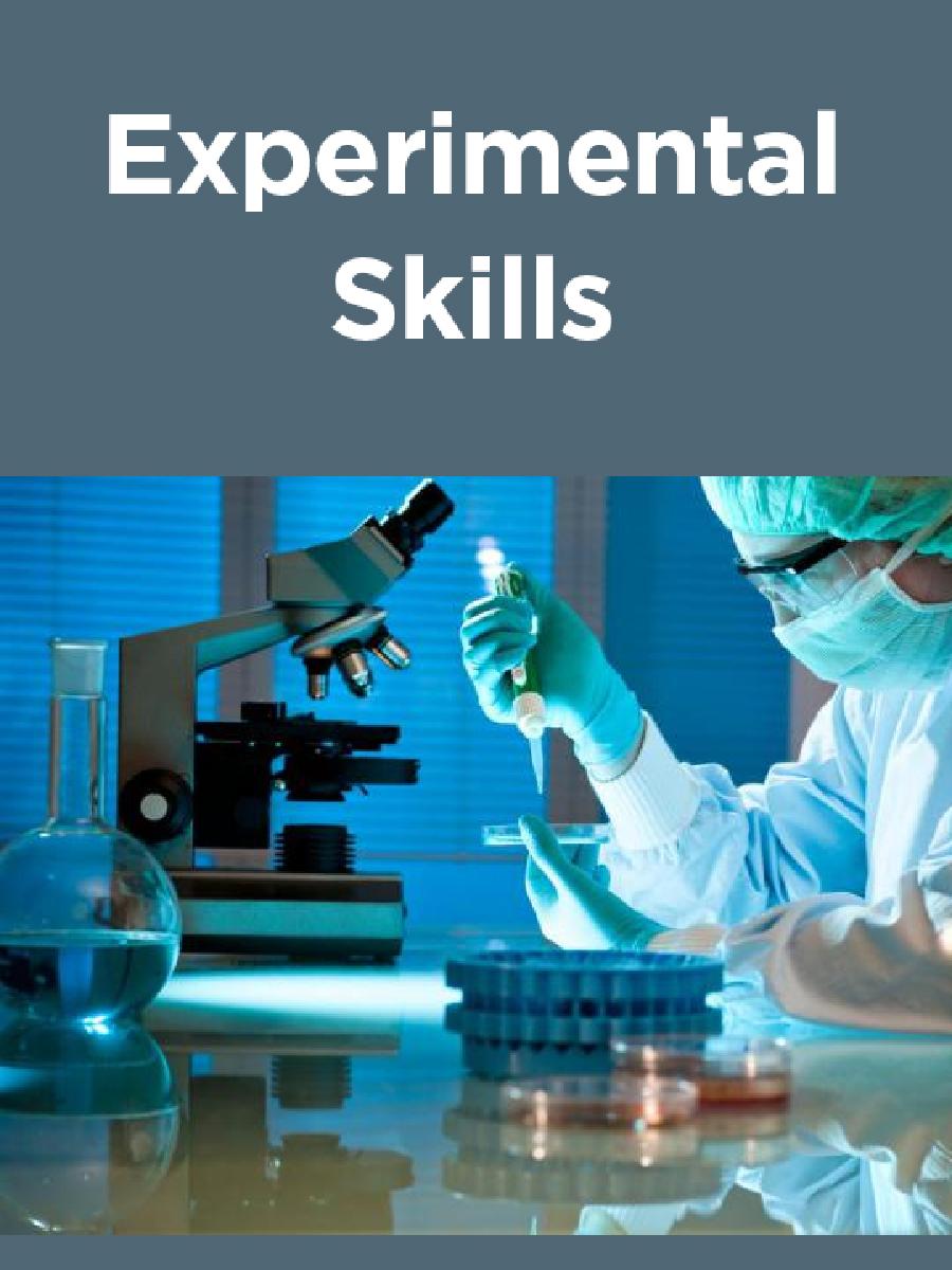 Experimental Skills - Page 1
