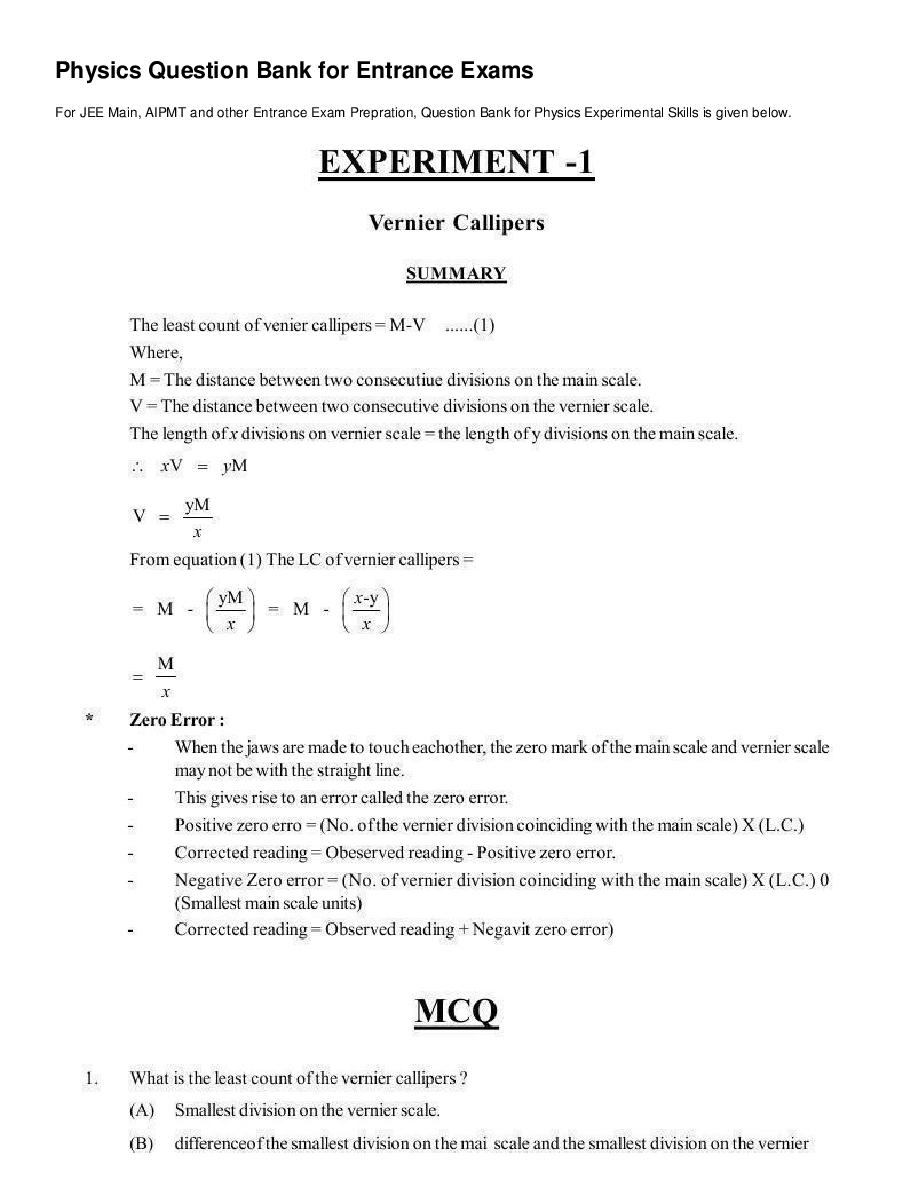 Experimental Skills - Page 2