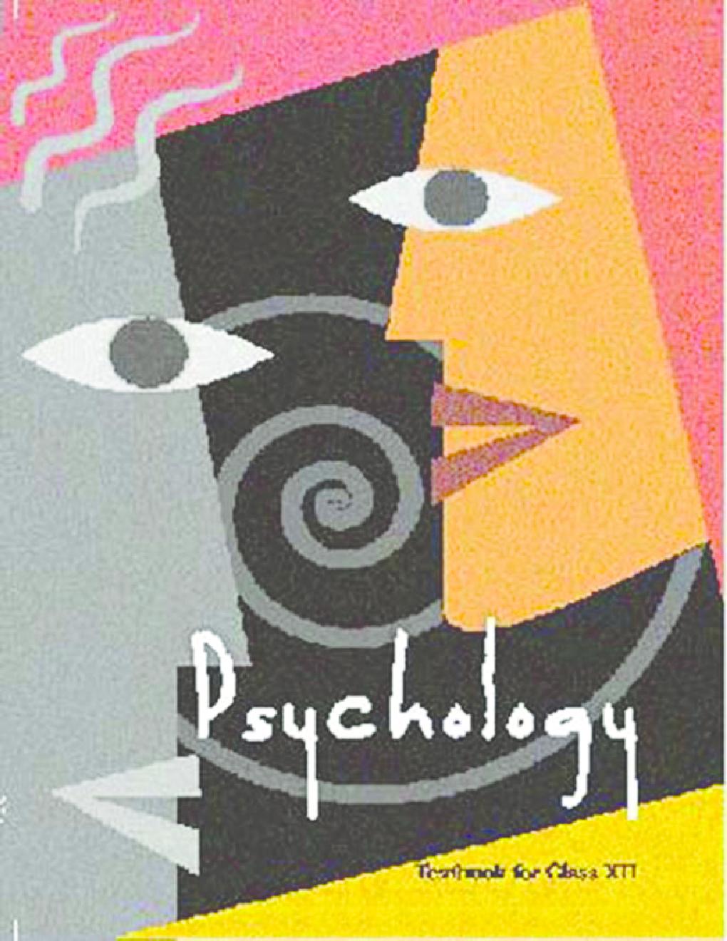 Psychology ncert books free download