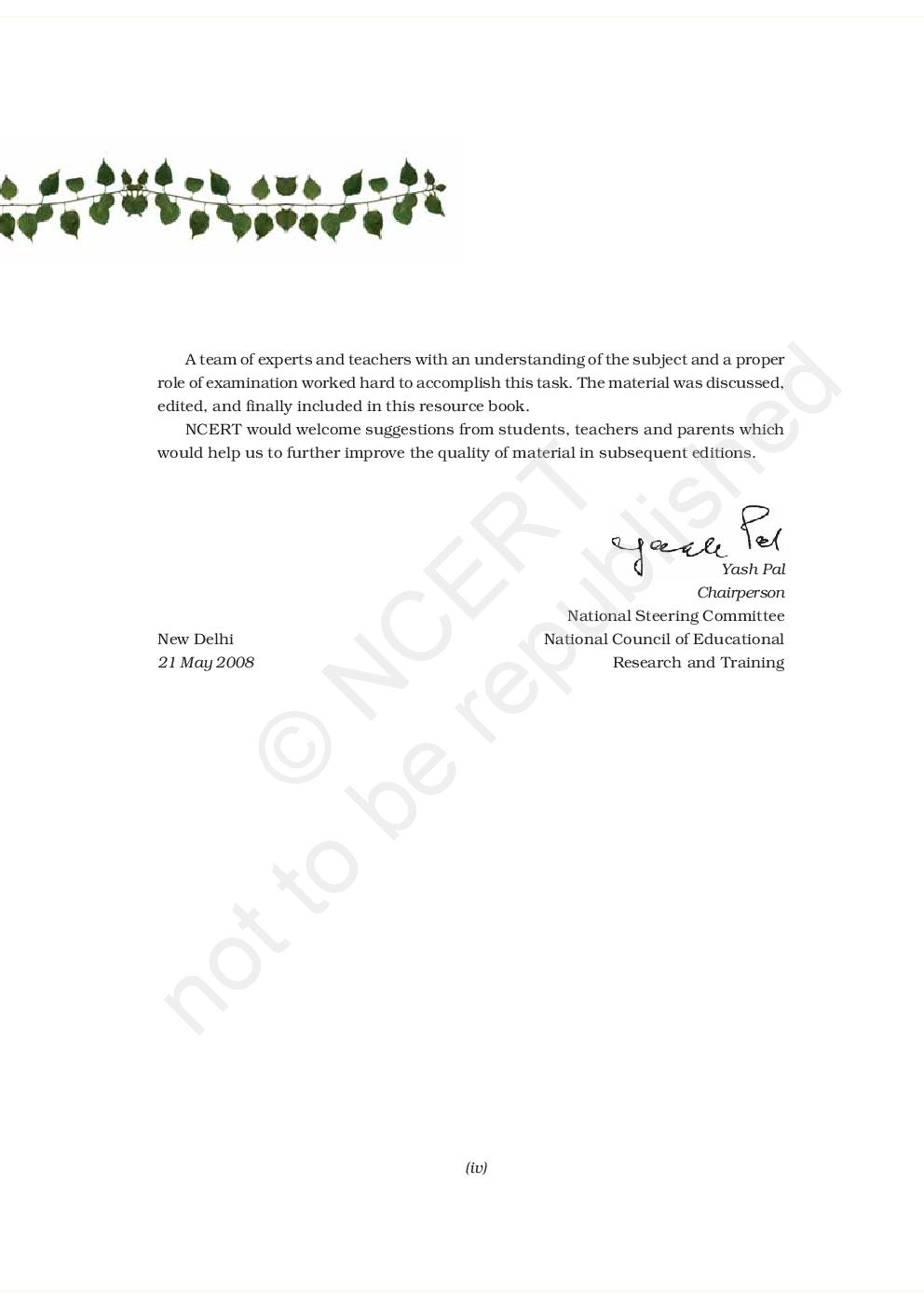 NCERT Exemplar Problems Class XII Biology - Page 3