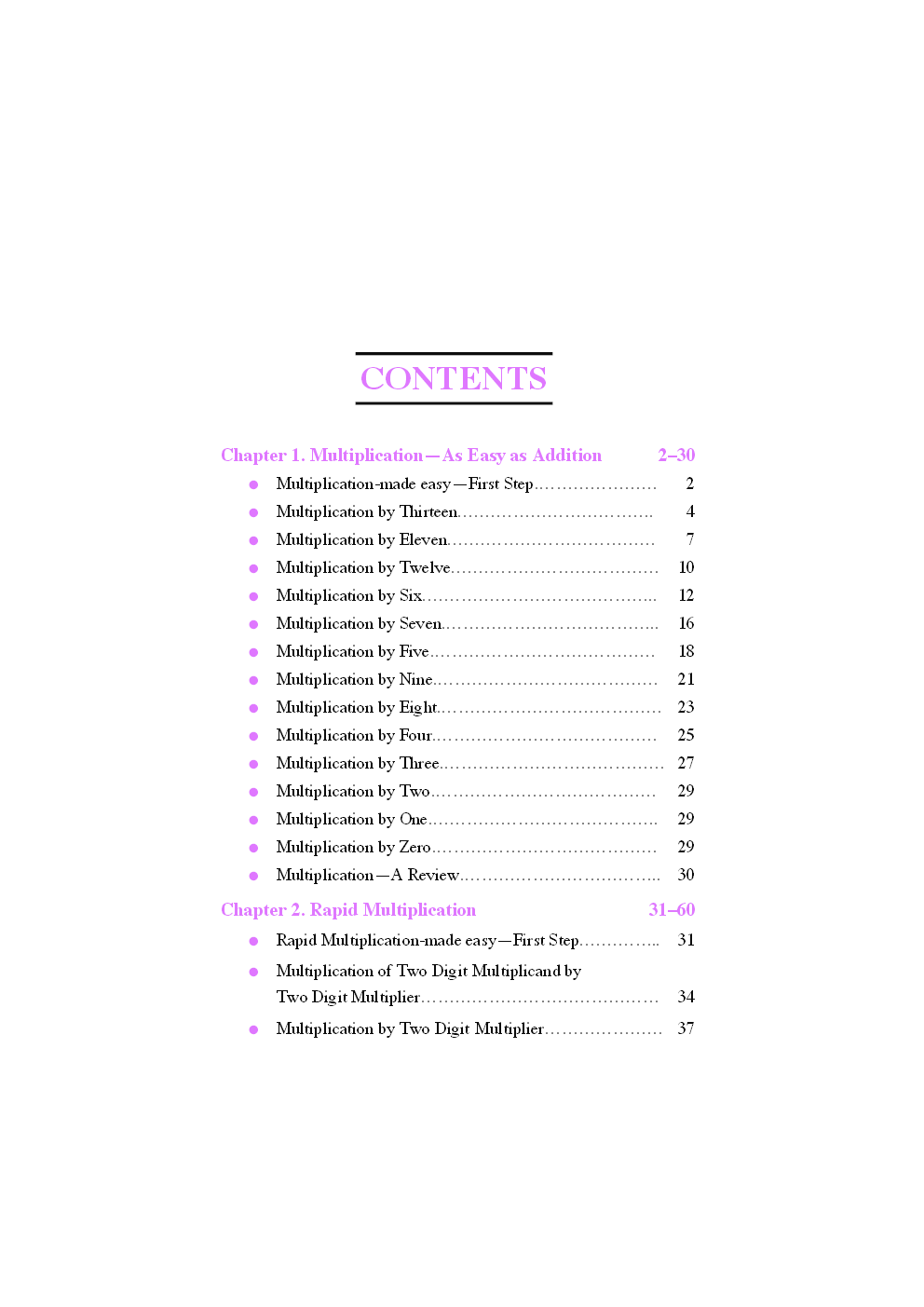 High Speed System of Basic Arithmetic - Page 4
