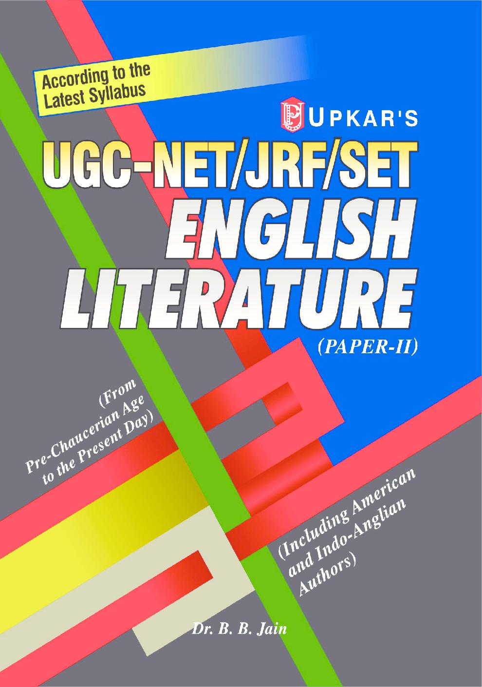 UGC Net JRF Set English Literature (Paper -II) - Page 1