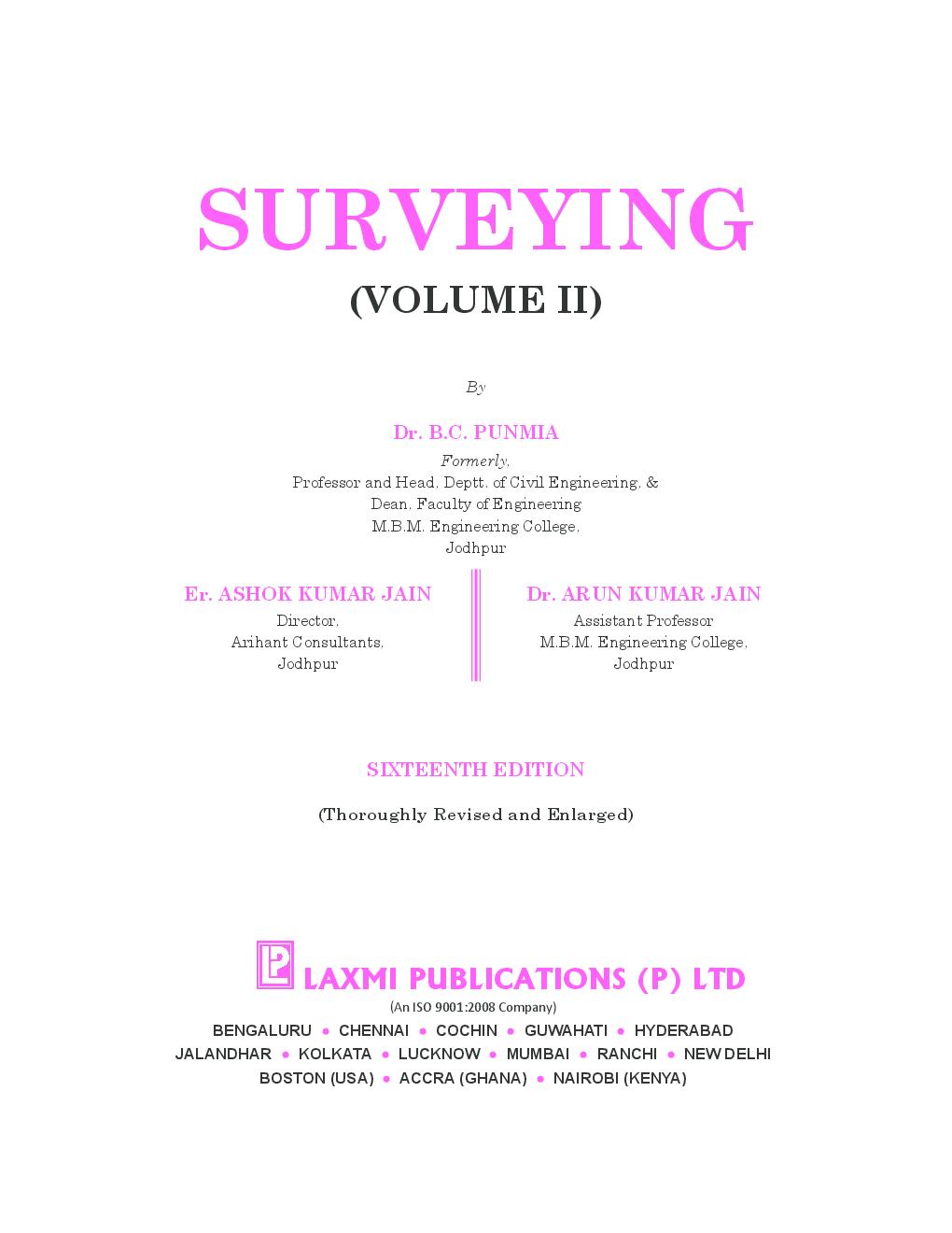 Surveying Vol.II  - Page 5
