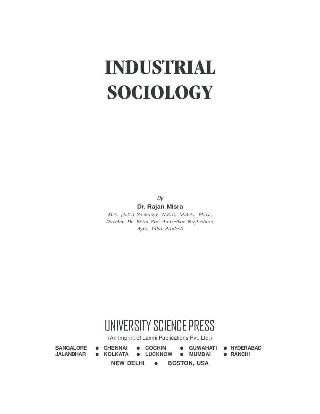 Industrial Sociology - Page 5