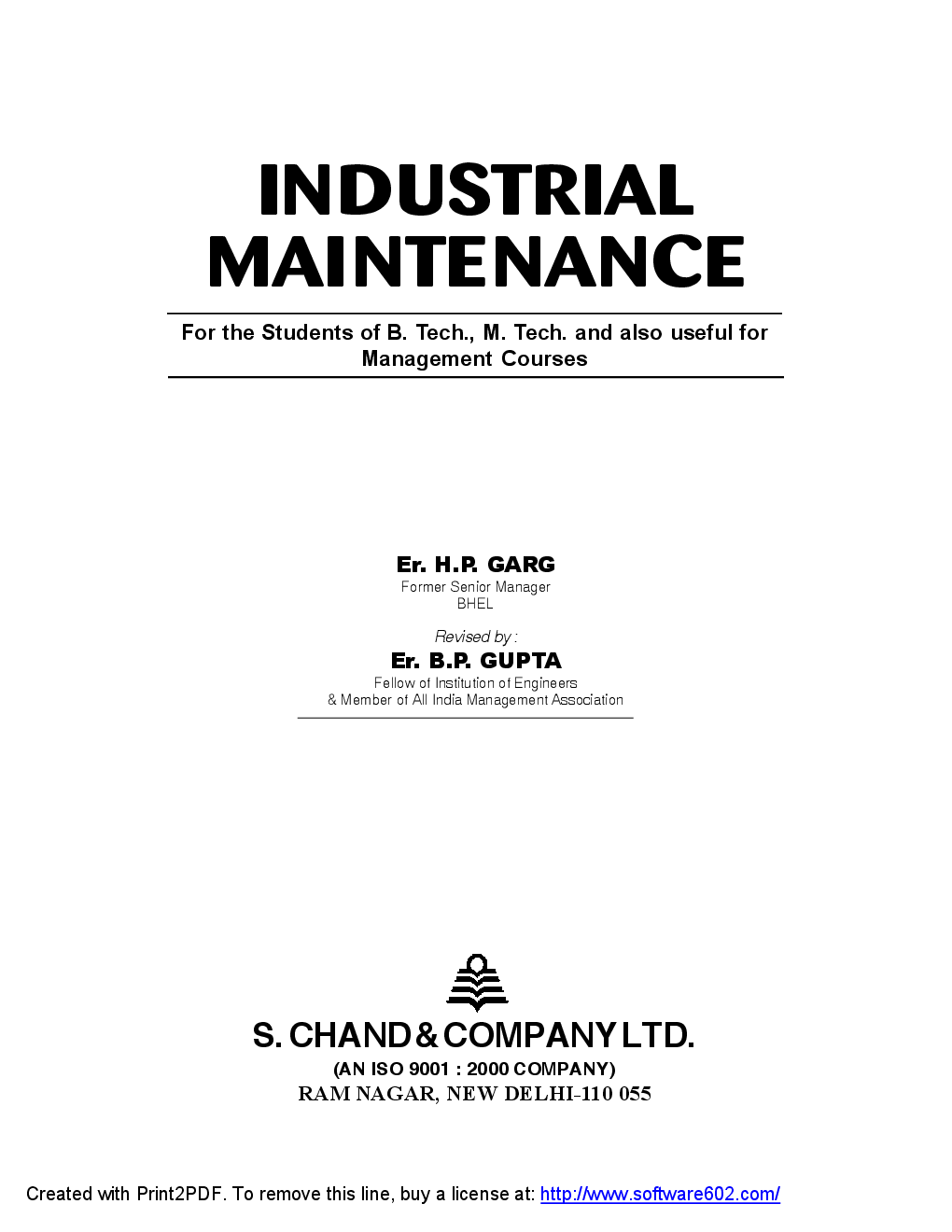 Industrial Maintenance - Page 2