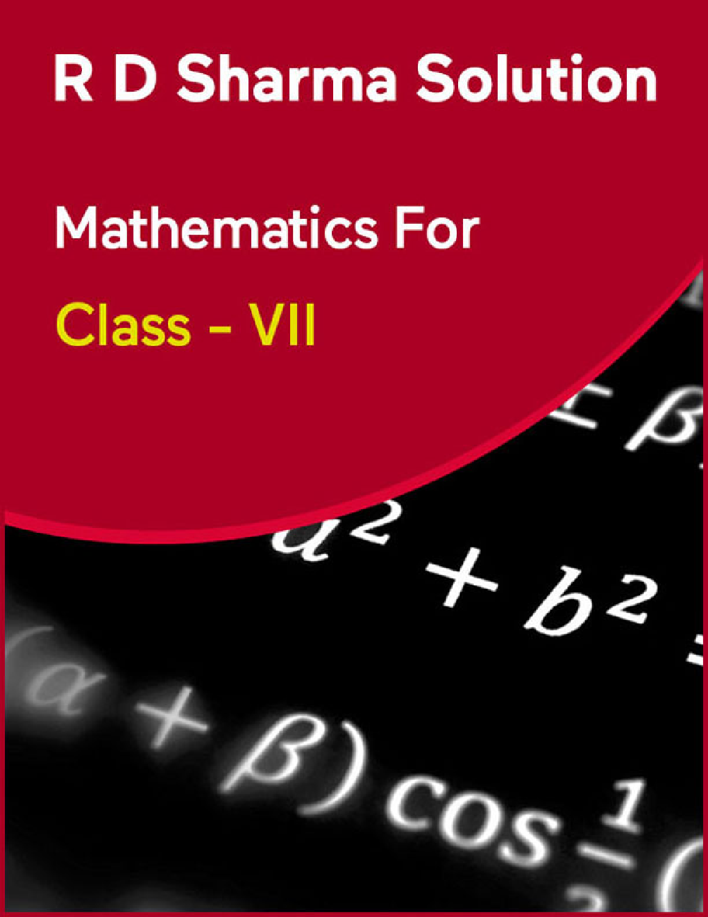 R D Sharma Solution Mathematics For Class - VII - Page 1