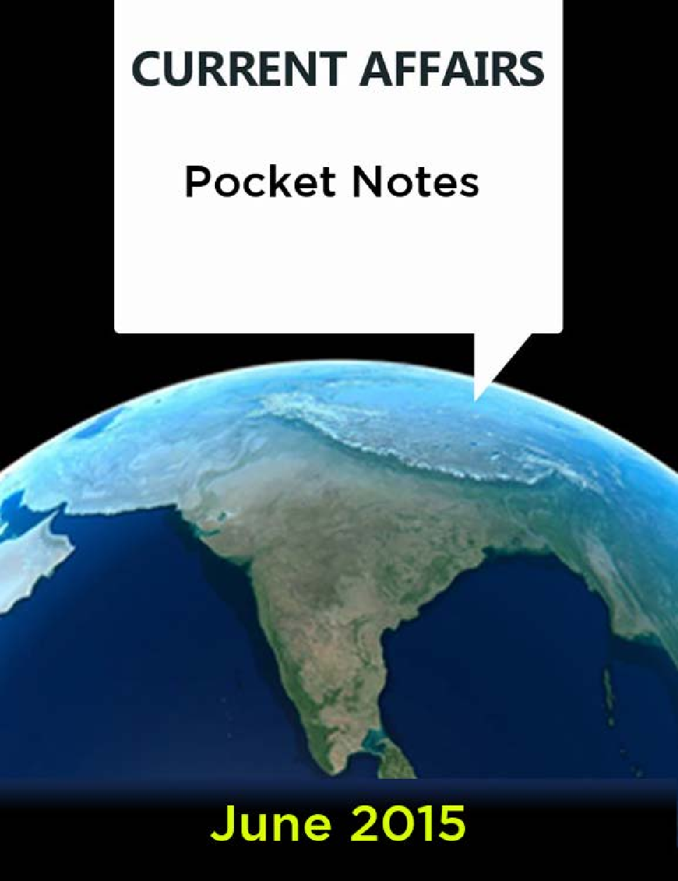 Current Affairs Pocket Notes - June 2015 - Page 1
