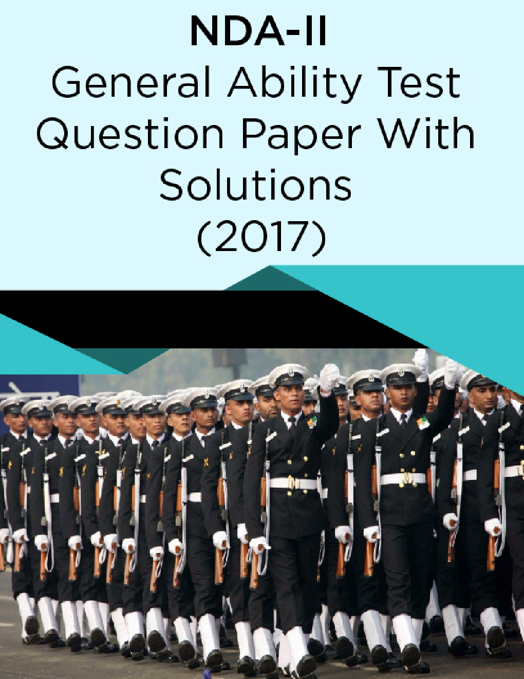 NDA-II General Ability Test Question Paper With Solutions (2017) - Page 1