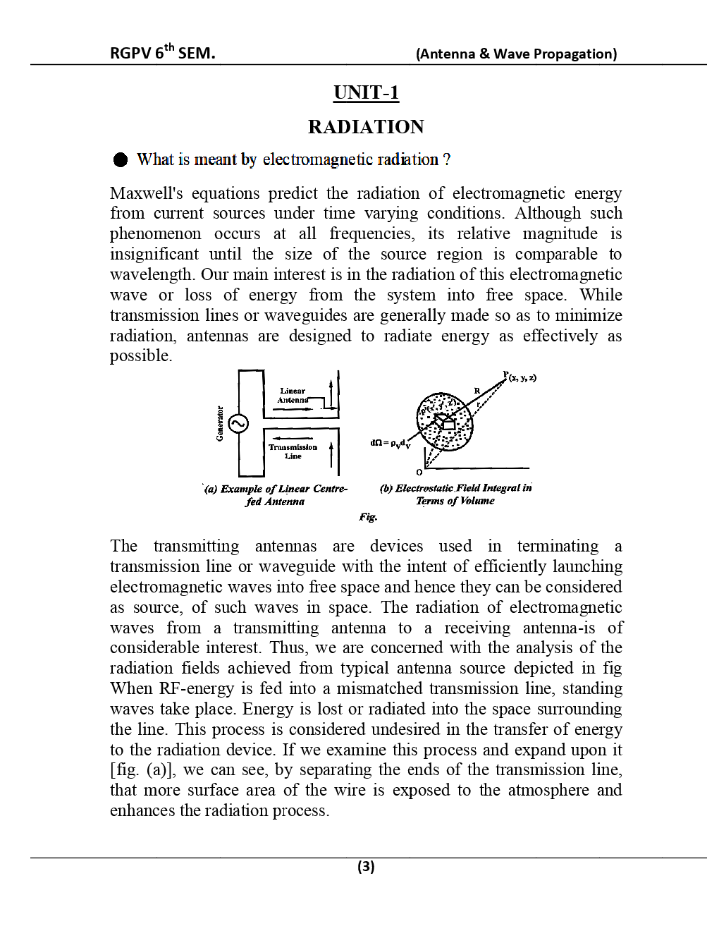 Antenna And Wave Propagation For RGPV BE 6th Sem Electronics & Communication Engineering - Page 4