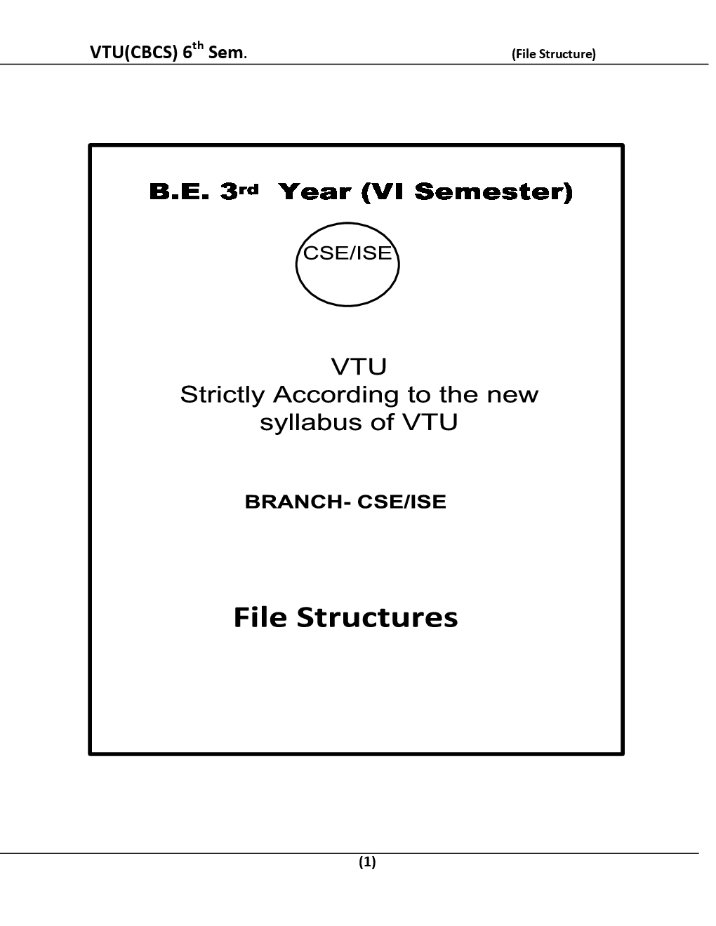 File Structure For VTU BE 6th Sem Computer Science Engineering - Page 2
