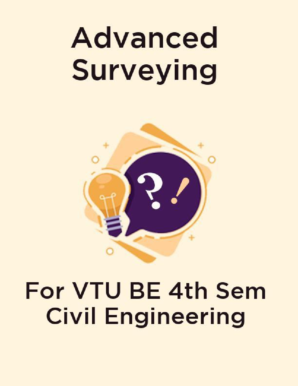 Advanced Surveying For VTU BE 4th Sem Civil Engineering - Page 1