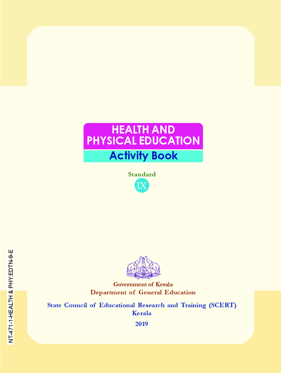 Free Download SCERT Health & Physical Education Textbook ...
