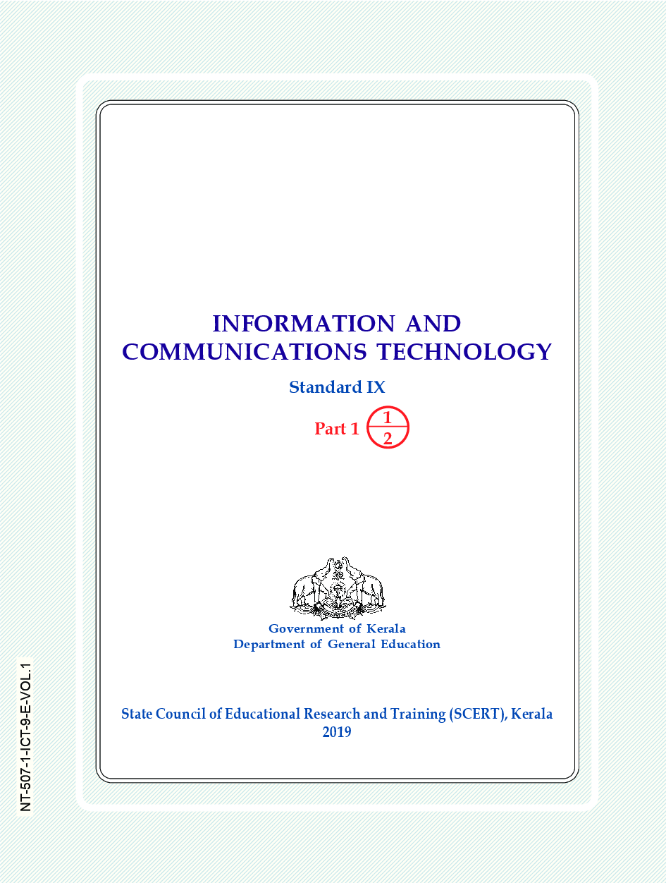 SCERT Information And Communications Technology Textbook For Class-IX - Page 2