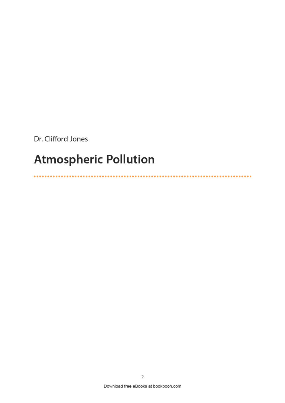 Atmospheric Pollution - Page 2