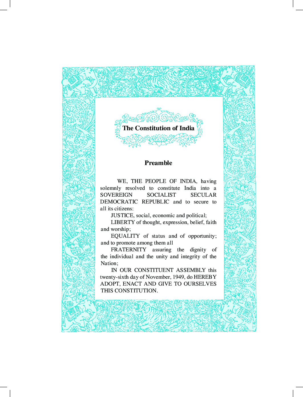 Maharashtra School Textbook My English Book (Hindi) For Class-4 - Page 4