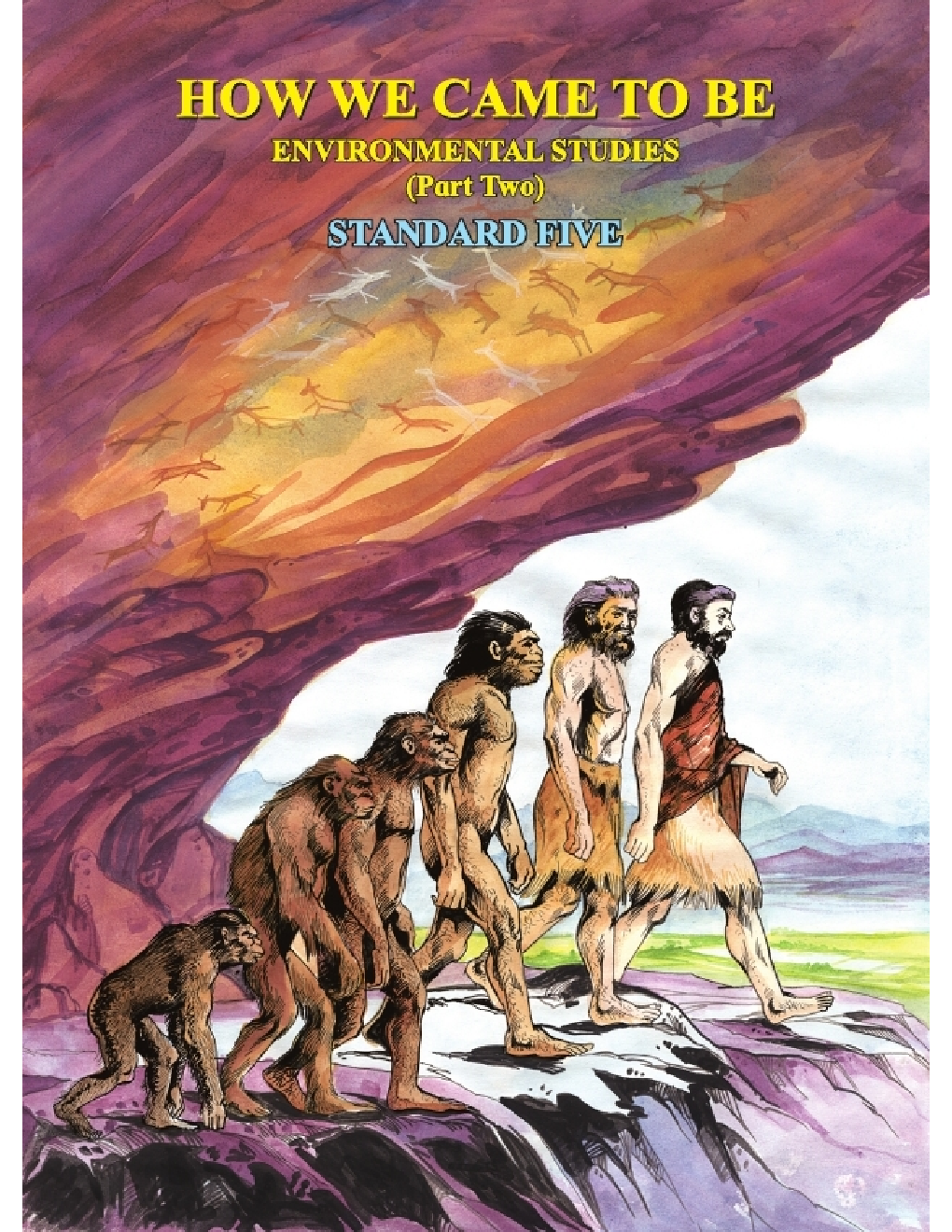 Maharashtra School Textbook How We Come To Be (Environmental Studies Part-2) For Class-5 - Page 1