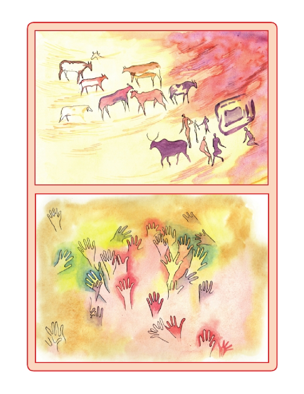 Maharashtra School Textbook How We Come To Be (Environmental Studies Part-2) For Class-5 - Page 3