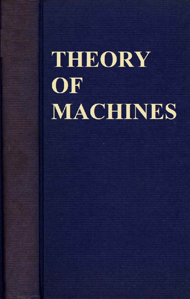 Theory Of Machines - Page 1