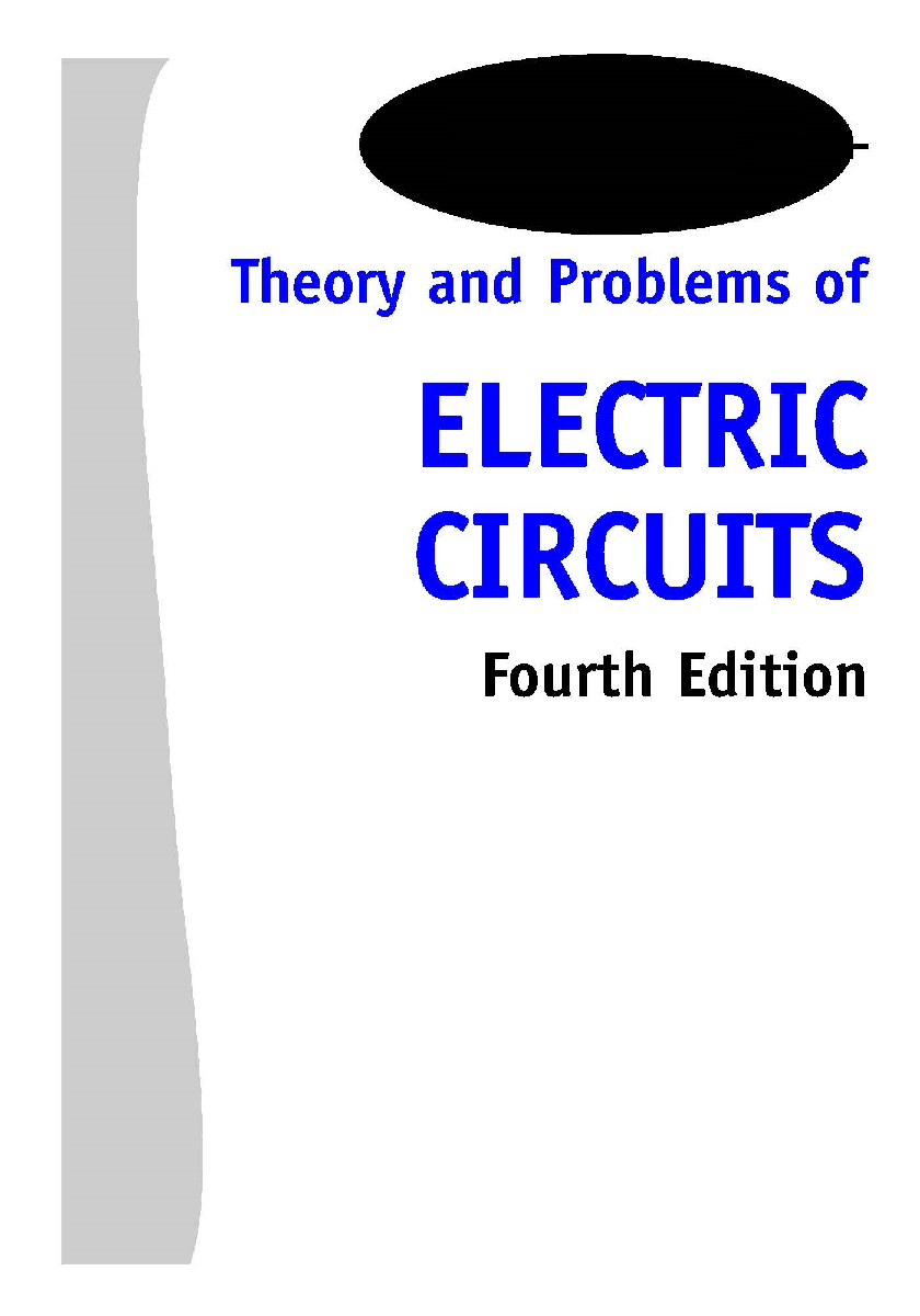 Theory And Problems Of Electric Circuits Fourth Edition - Page 2