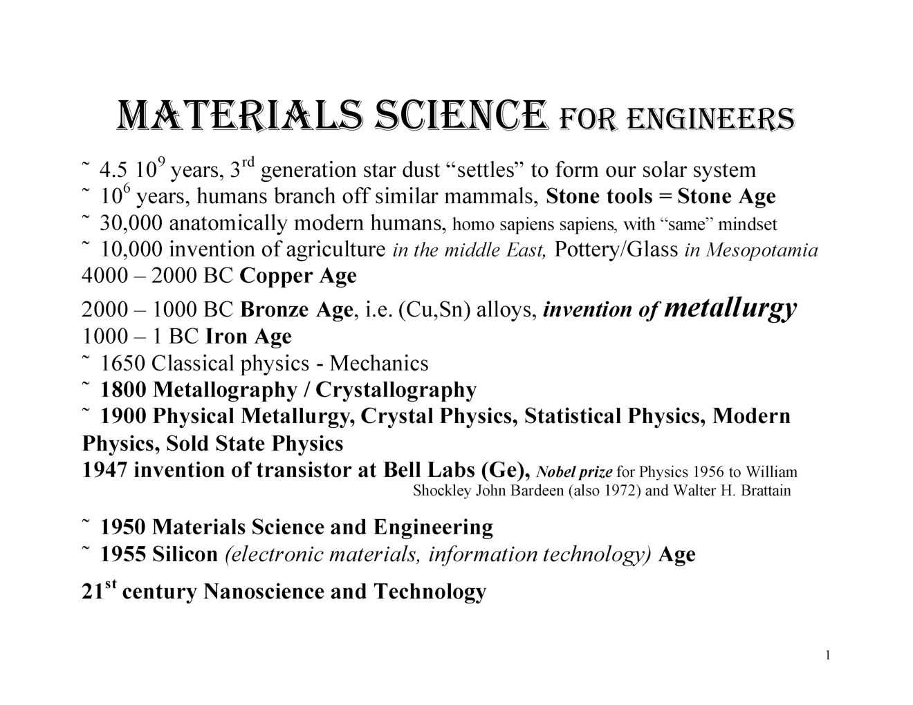 IES Materials Science Study Material For Electronic Telecommunication Engineering Paper-1 - Page 2