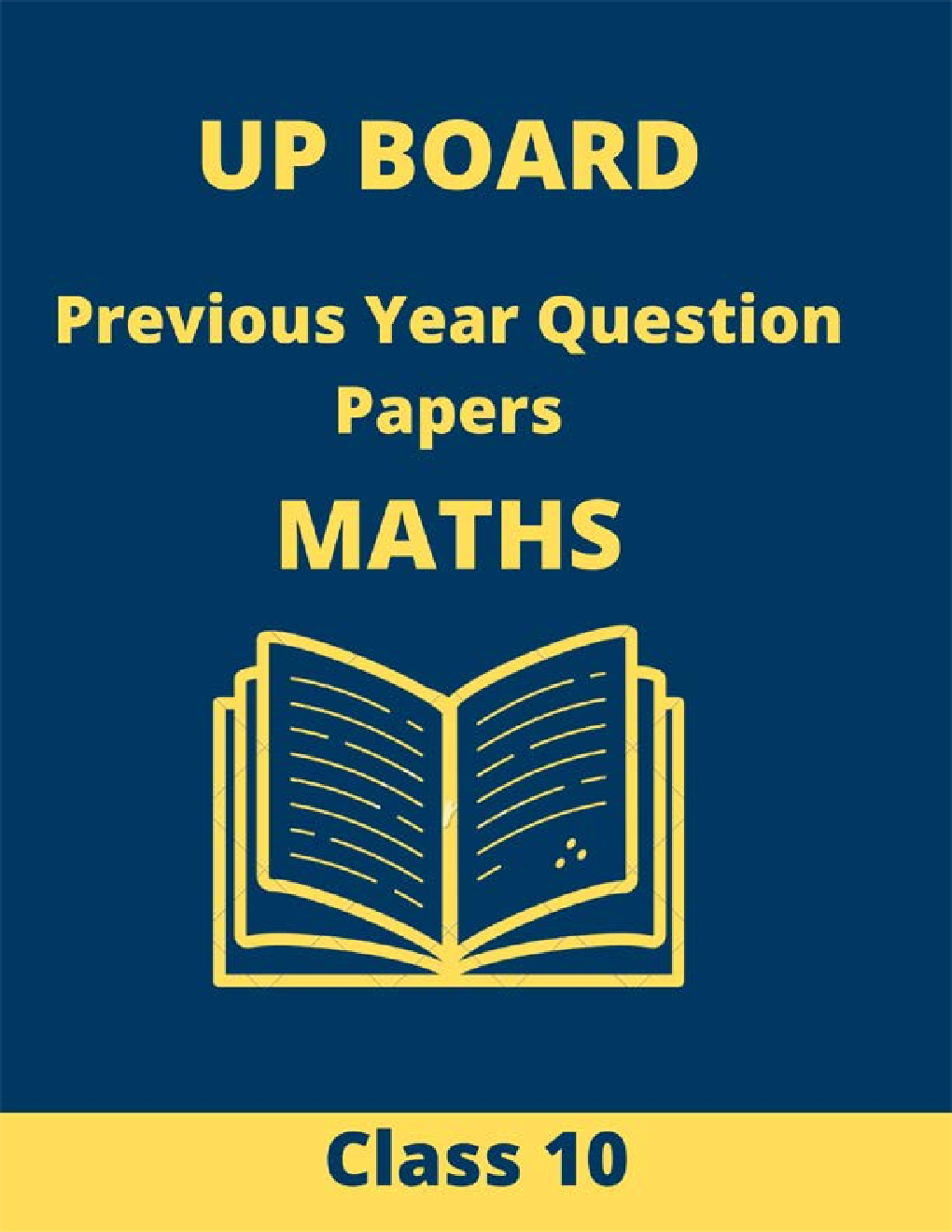 UP Board (2015-2019) Previous Year Question Papers Maths Class 10 - Page 1