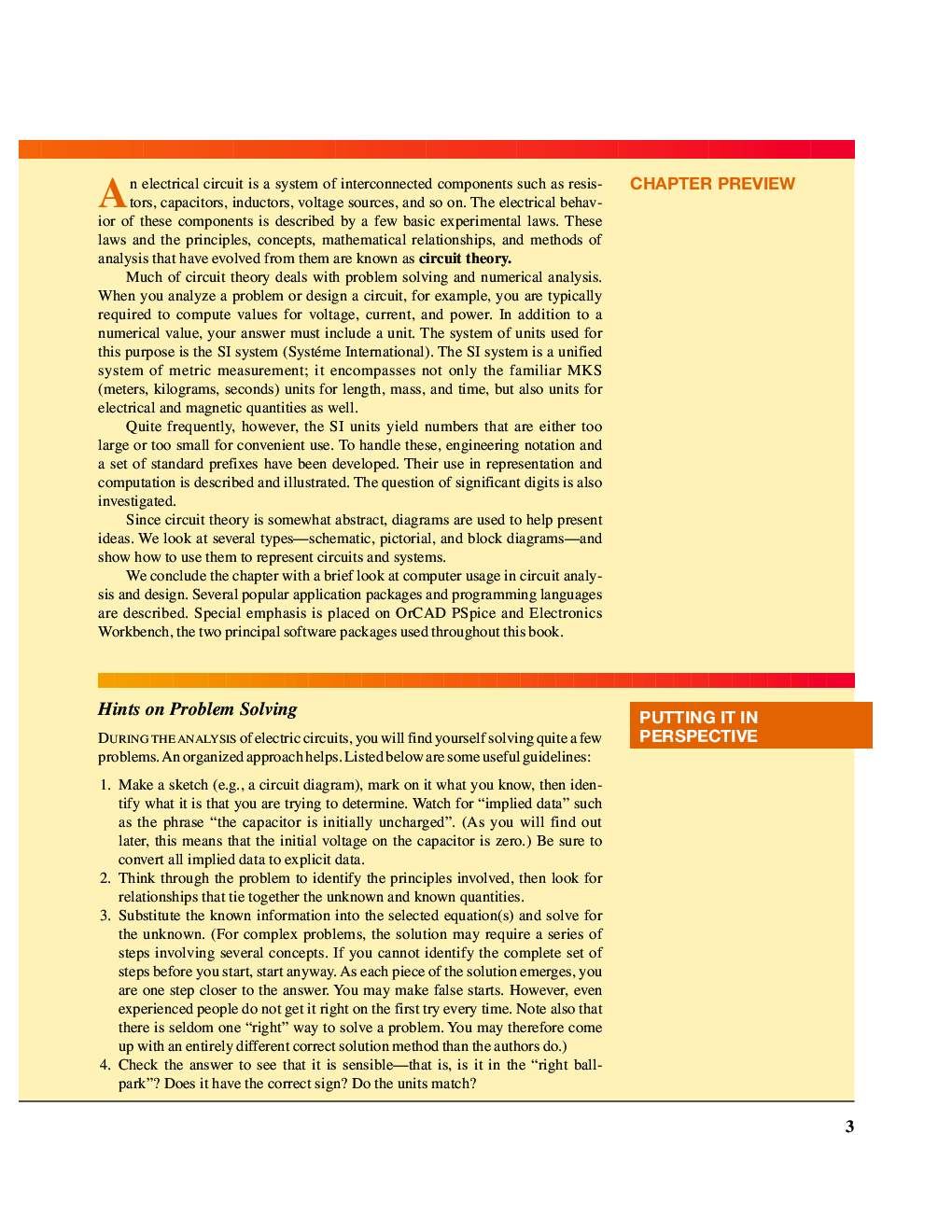 Circuit Analysis Theory and Practice - Page 3