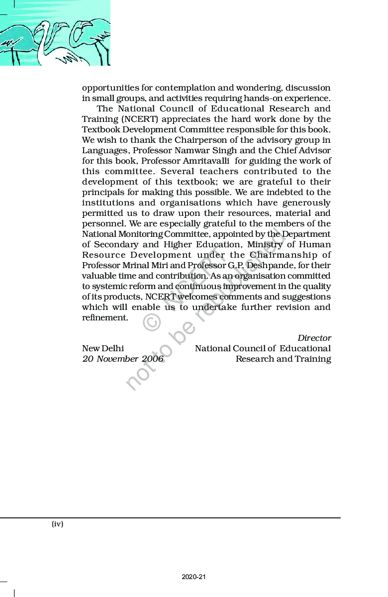 NCERT Flamingo English (Core Course) Textbook For Class-XII - Page 5