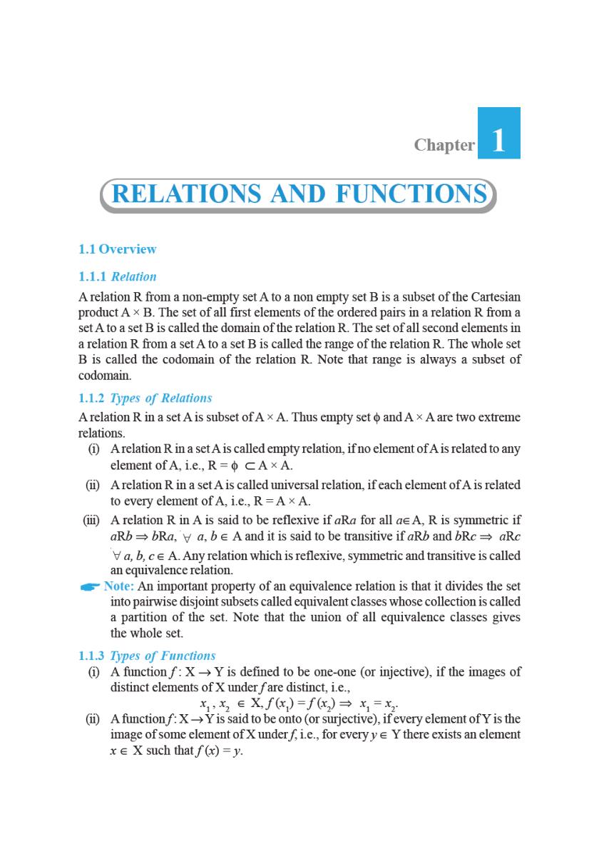 NCERT Exemplar Problems Class XII Mathematics - Page 2