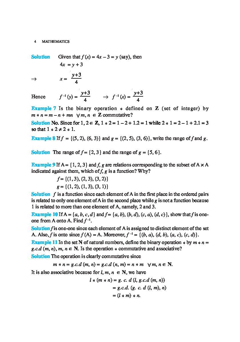 NCERT Exemplar Problems Class XII Mathematics - Page 5