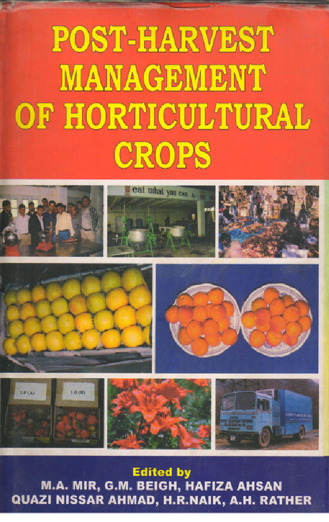 Postharvest Biology And Technology series - eBooks.com