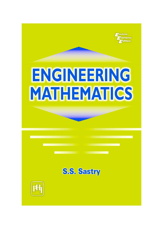mathematics for marine engineers pdf