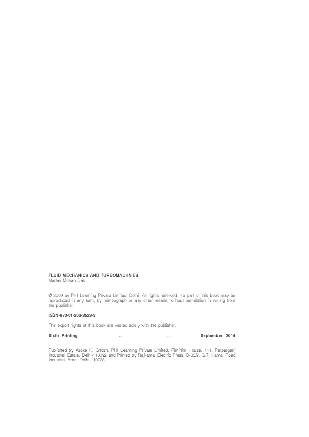 Fluid Mechanics And Turbomachines - Page 3