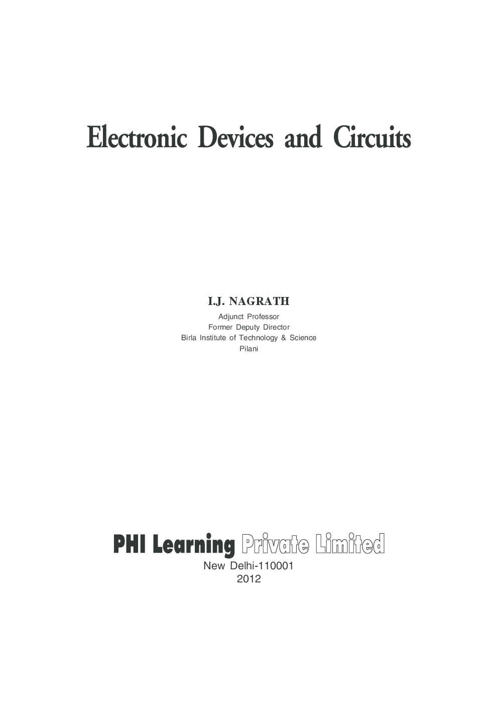 electronic devices and circuit theory pdf free download