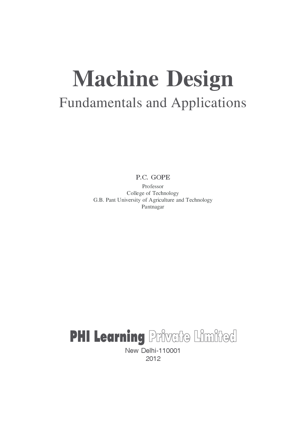 Fundamentals of machine design P orlov Mir
