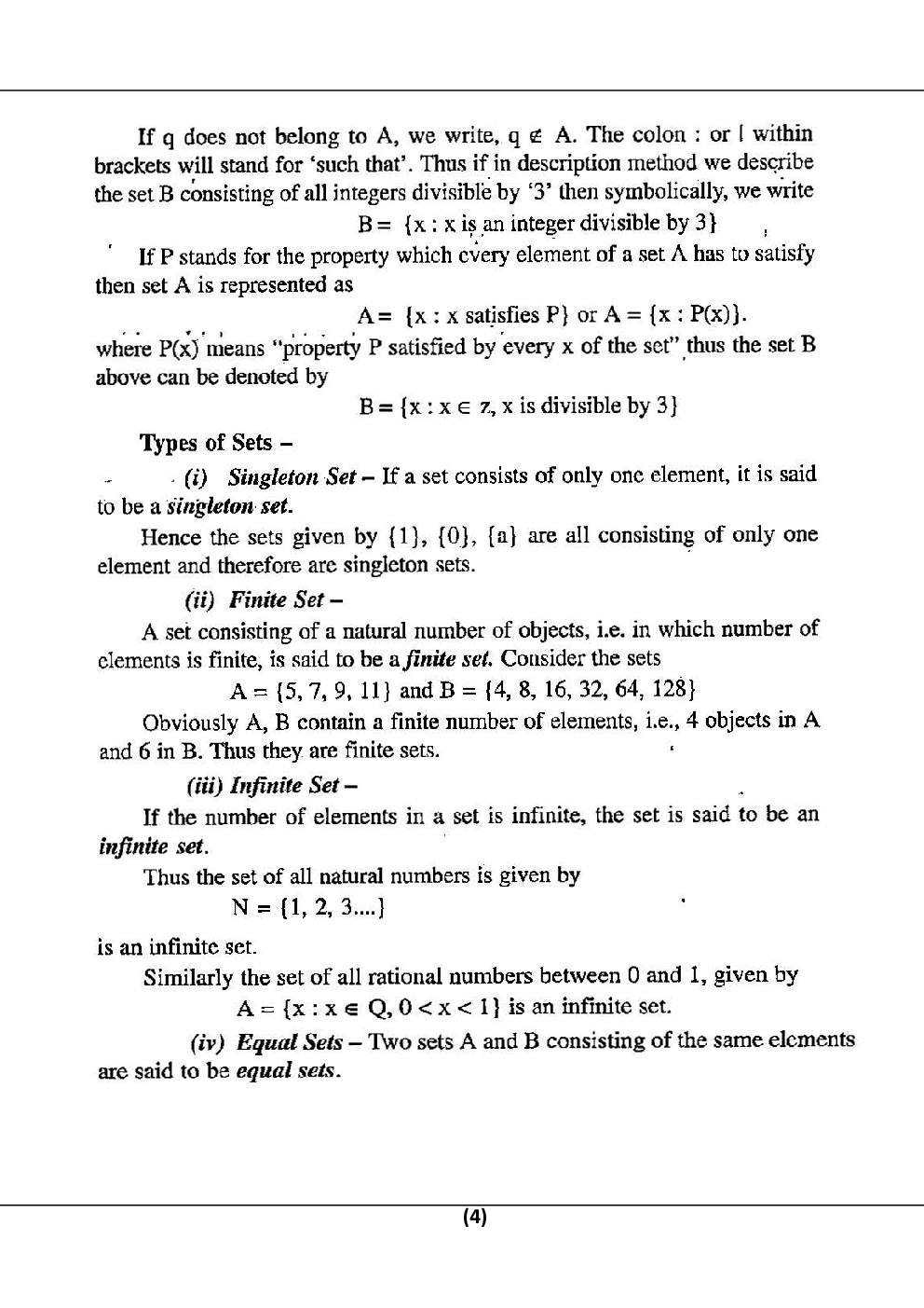 Discrete Structure For RGPV B.E. 3rd Sem Computer Science Engineering - Page 5