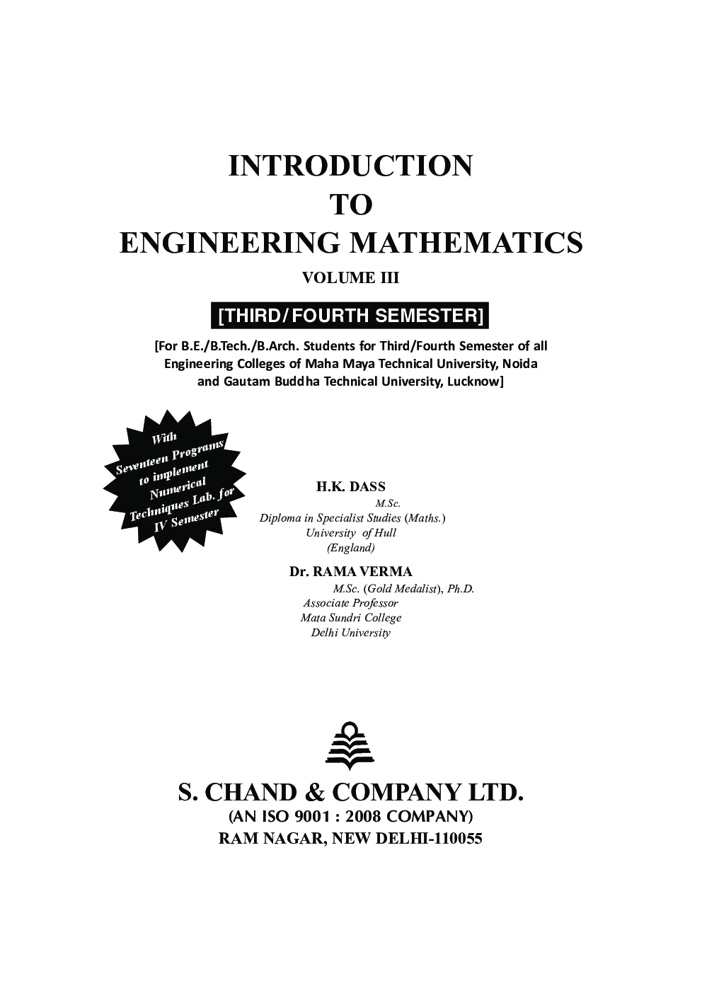 Engineering Mathematics - II - Google Books