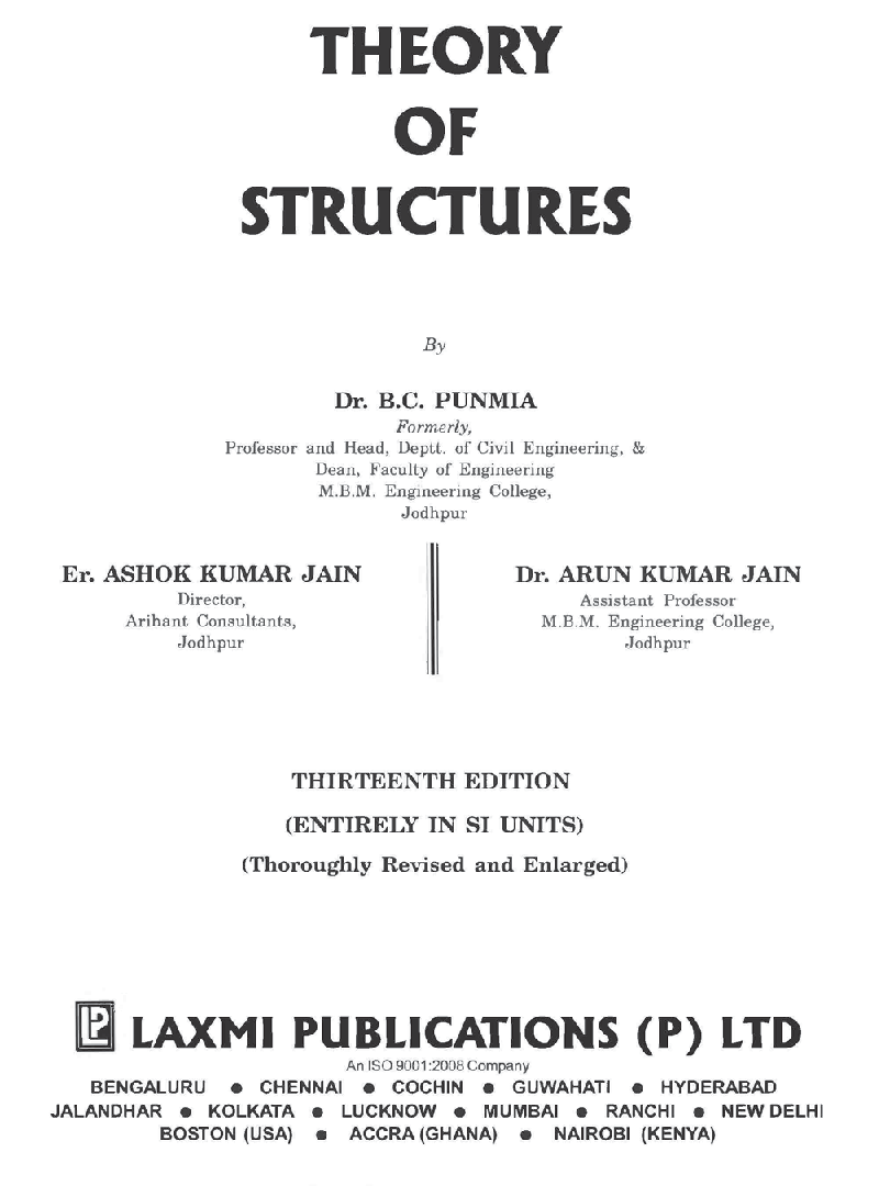 Theory Of Structures By Ramamrutham Pdf Free Download