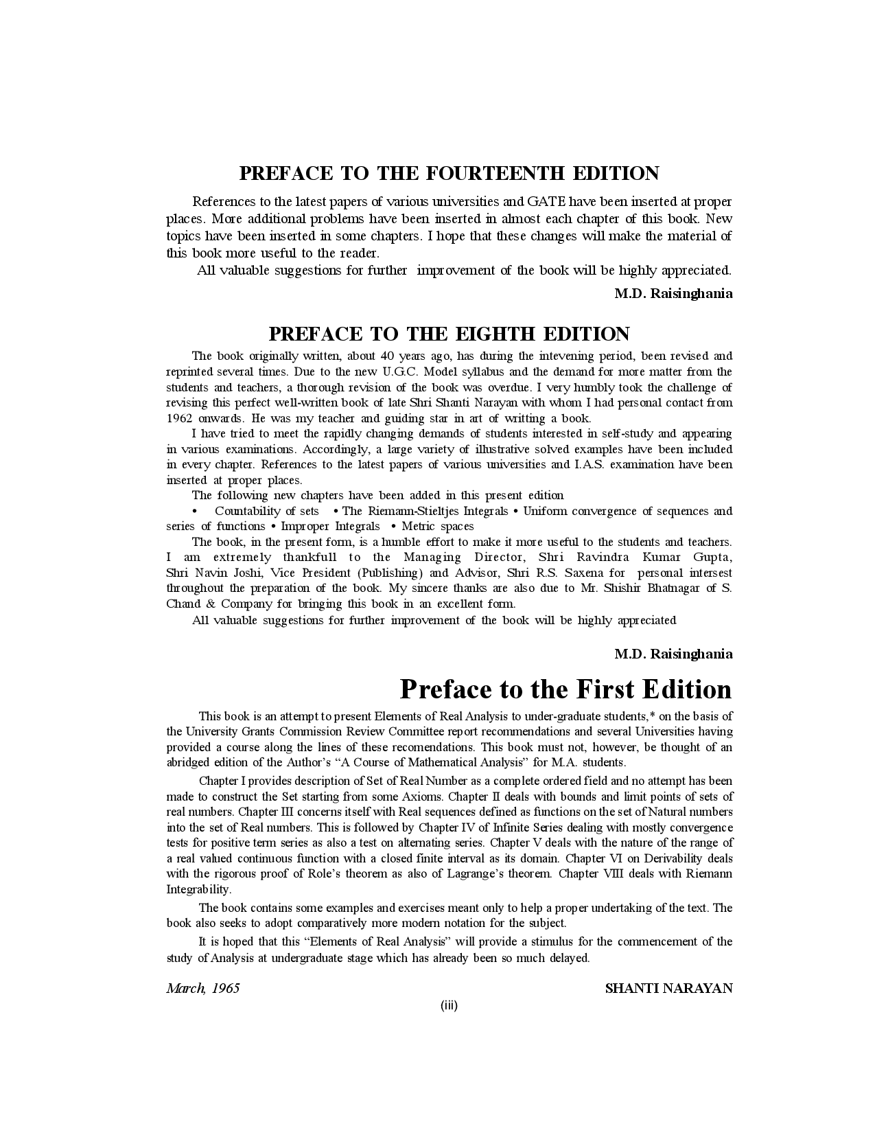 Elements Of Real Anyalsis - Page 4