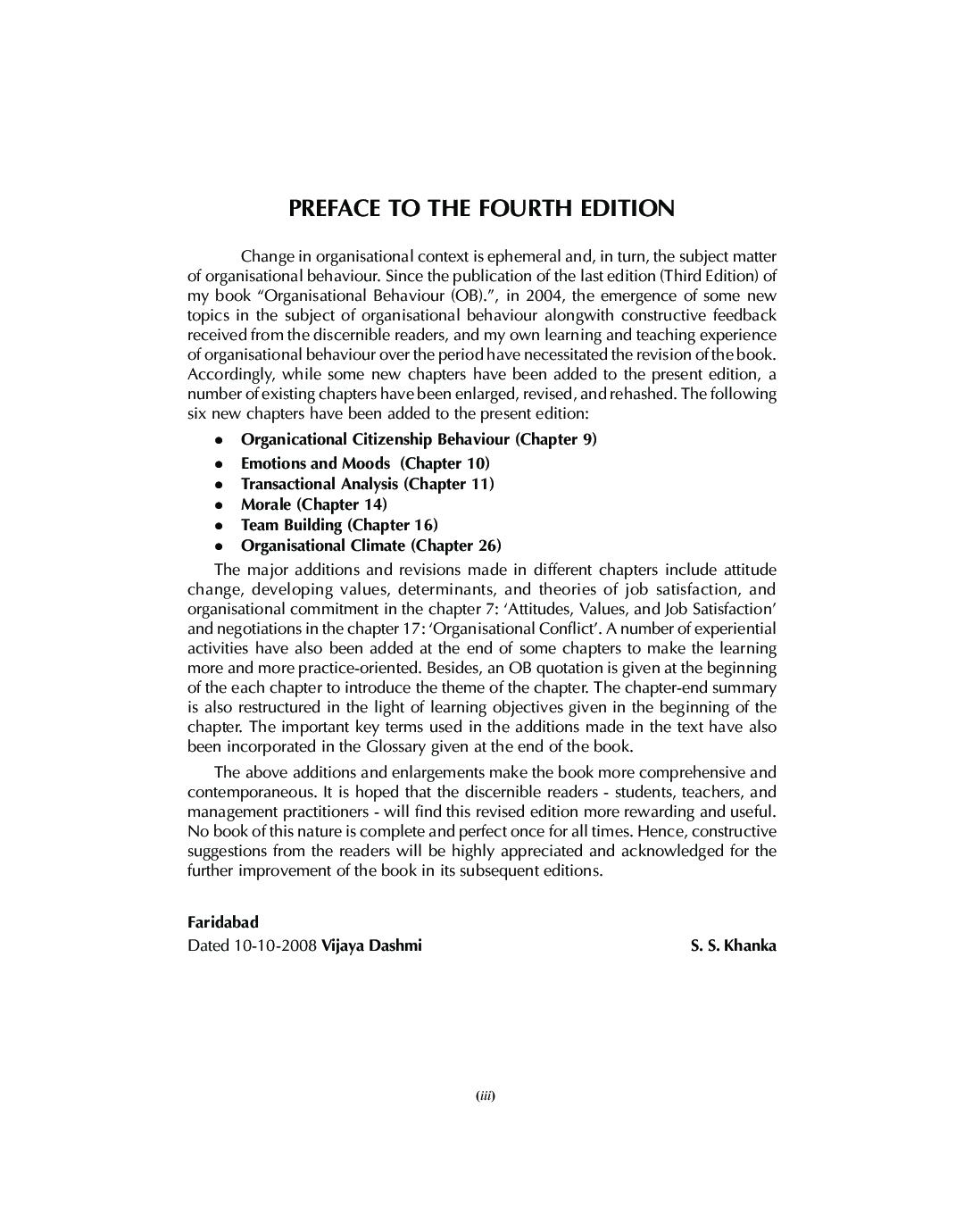 Organisational Behaviour - Page 4