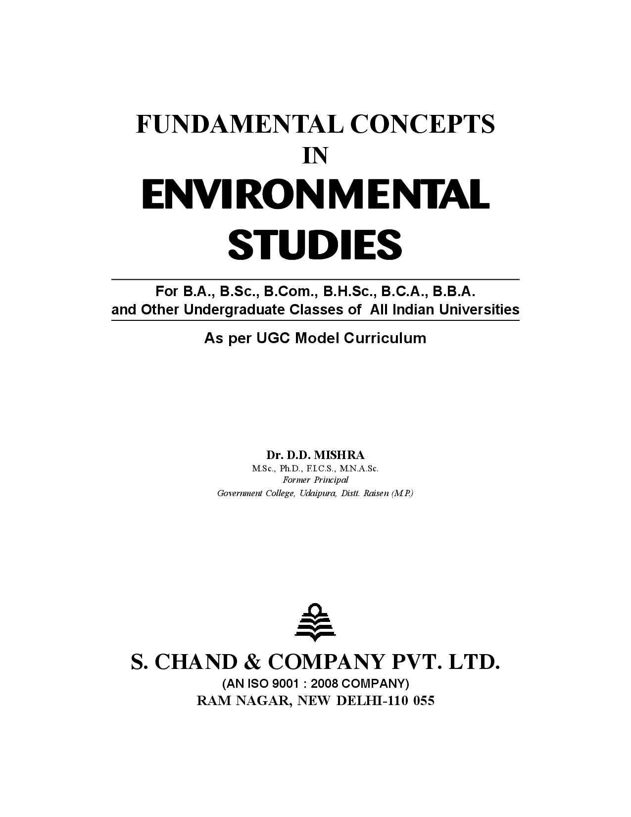 Fundamental Concept In Environmental Studies - Page 2
