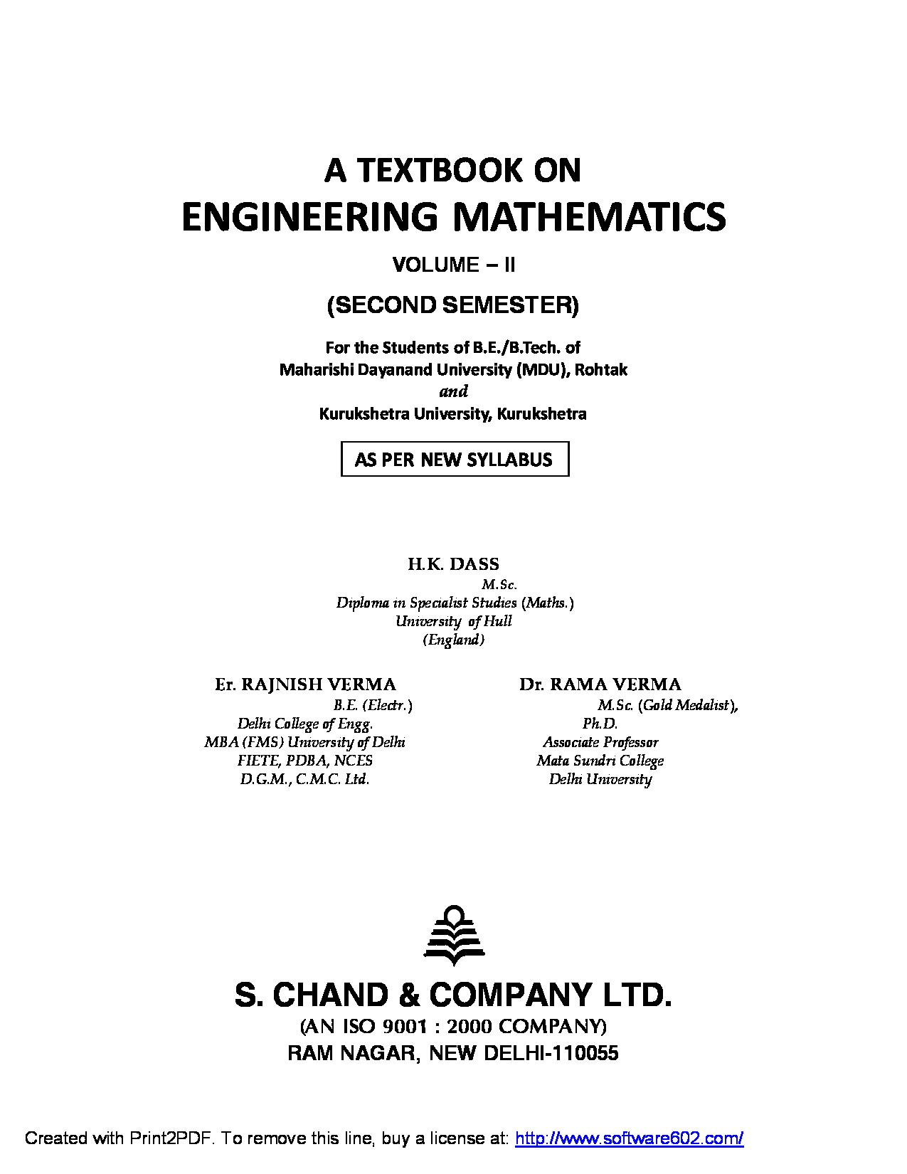Engineering Mathematics 2 - Apps on Google Play