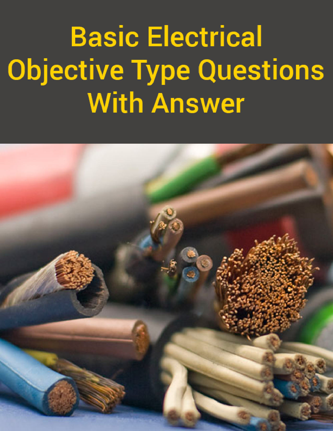 Download Basic Electrical Objective Type Questions With