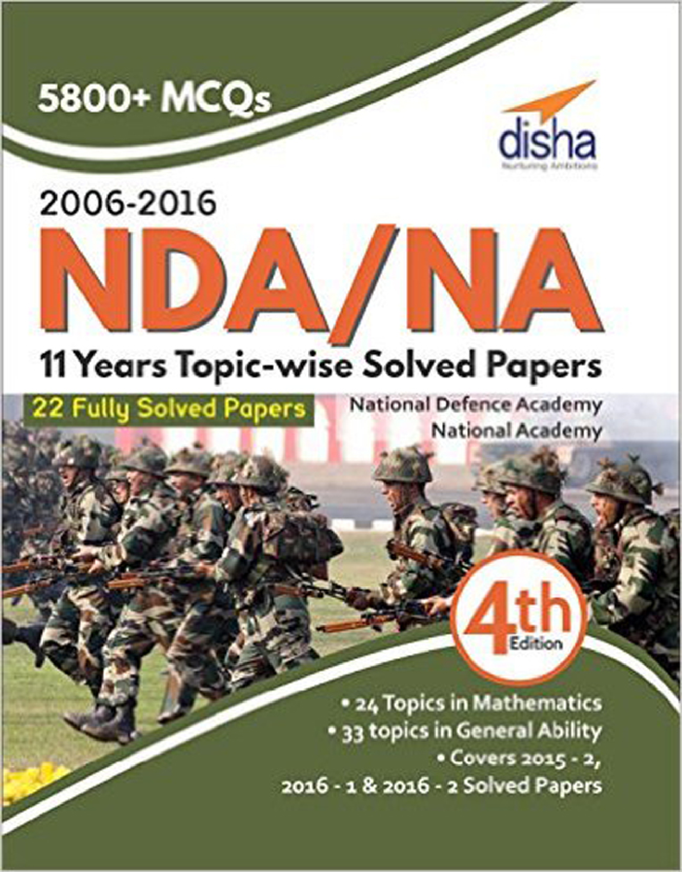 NDA/ NA 11 Years Topic-Wise Solved Papers (2006 - 2016) 4th Edition - Page 1